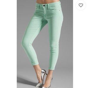 Joe's Jeans High Water Jeans Mint Green Size 28